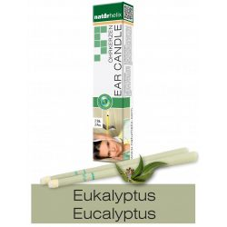 Naturhelix Ear Candles with Eucalyptus Oil, 2pcs Pack