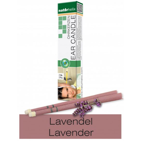 Naturhelix Ear Candles with Lavender Oil, 2pcs Pack