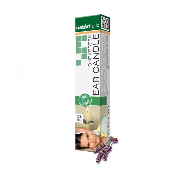 Naturhelix Ohrkerzen mit Lavendel-Öl, 2er-Packung