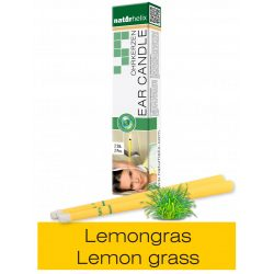 Naturhelix Ohrkerzen mit Lemongras-Öl, 2er-Packung