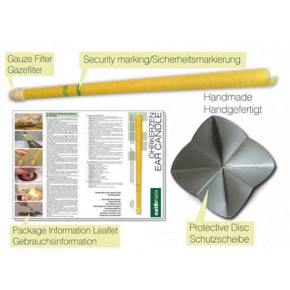 Naturhelix Ohrkerzen mit Zitronengras-Öl, 2er-Packung
