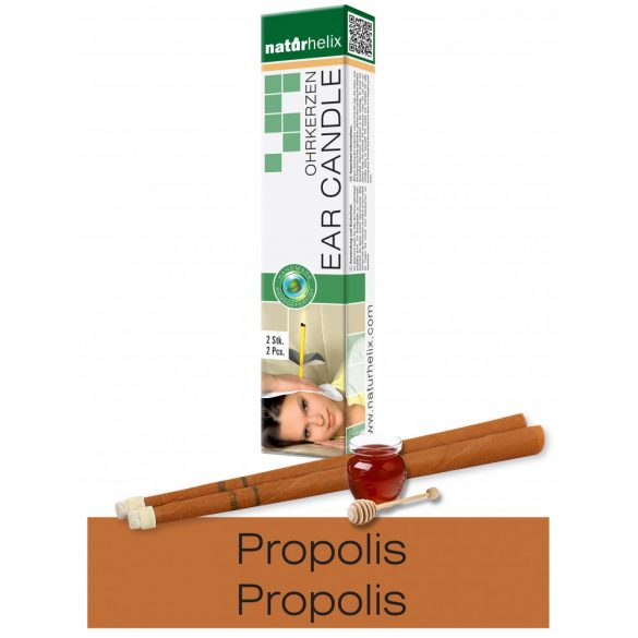 Naturhelix Ear Candles with Propolis Tincture, 2pcs Pack