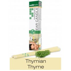 Naturhelix Ear Candles with Thyme Oil, 2pcs Pack