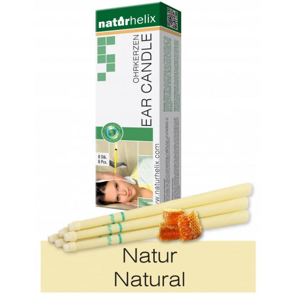 Naturhelix Ear Candles - Natural, 6pcs Pack