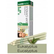 Naturhelix Ear Candles with Eucalyptus Oil, 6pcs Pack