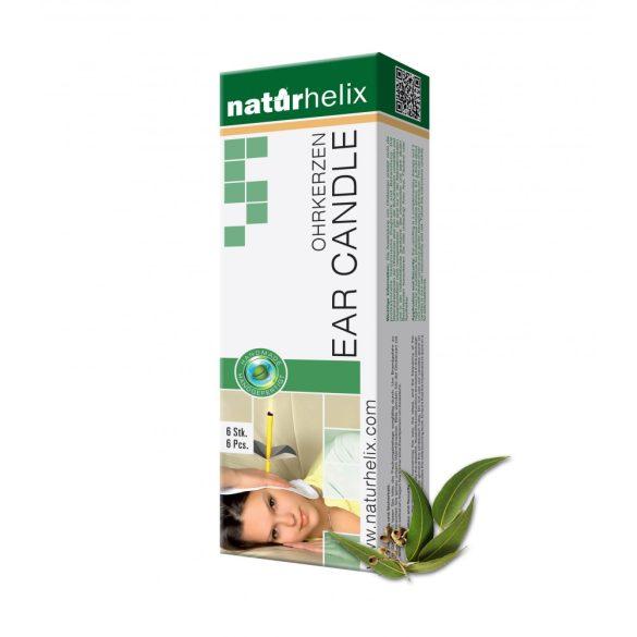 Naturhelix Ohrkerzen mit Eukalyptus-Öl, 6er-Packung