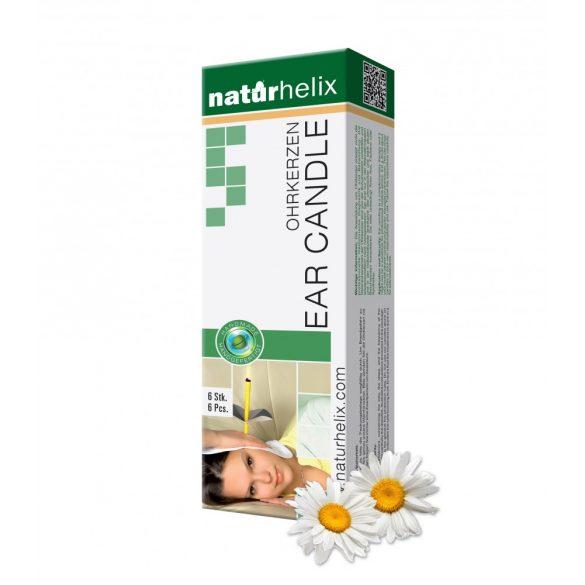 Naturhelix Ohrkerzen mit Kamillenöl, 6er-Packung