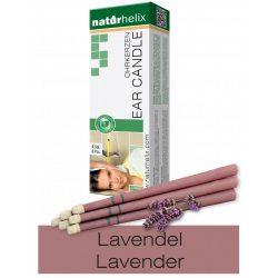 Naturhelix Ear Candles with Lavender Oil, 6pcs Pack