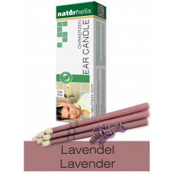 Naturhelix Ear Candles with Lavender Oil, 6pcs Pack