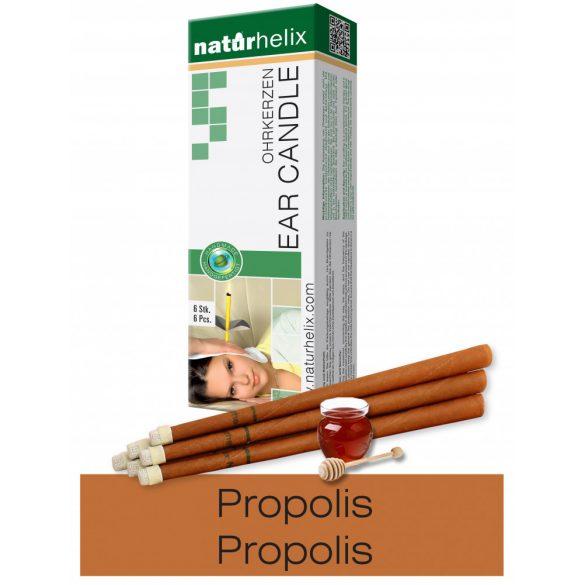 Naturhelix Ohrkerzen mit Propolis-Tinktur, 6er-Packung