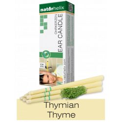 Naturhelix Ear Candles with Thyme Oil, 6pcs Pack