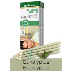 Naturhelix Ohrkerzen mit Eukalyptus-Öl, 10er-Packung
