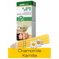 Naturhelix Ear Candles with Chamomile Oil, 10pcs Pack