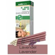 Naturhelix Ear Candles with Lavender Oil, 10pcs Pack