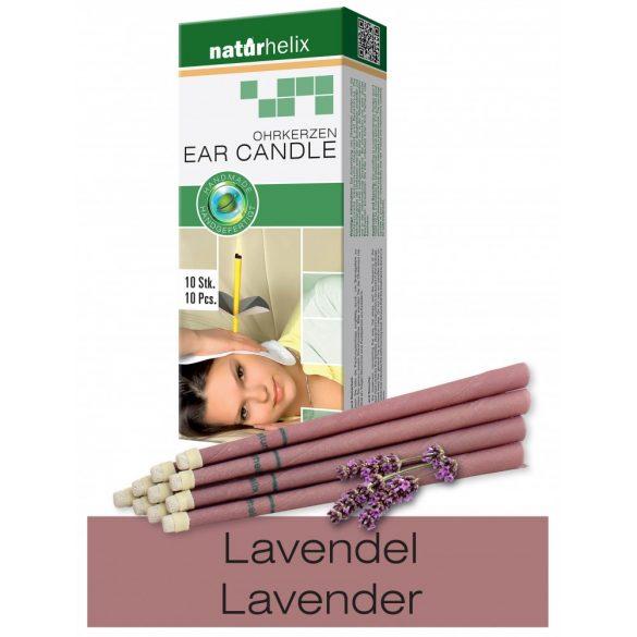 Naturhelix Ear Candles with Lavender Oil, 10pcs Pack
