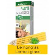 Naturhelix Ear Candles with Lemon Grass Oil, 10pcs Pack