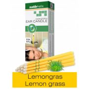 Naturhelix Ear Candles with Lemon Grass Oil, 10pcs Pack