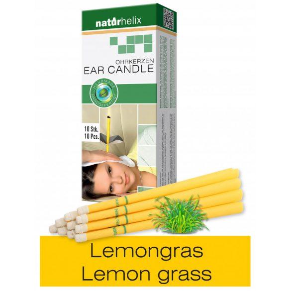 Naturhelix Ohrkerzen mit Lemongras-Öl, 10er-Packung