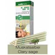Naturhelix Ear Candles with Clary Sage Oil, 10pcs Pack