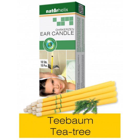 Naturhelix Ear Candles with Tea Tree Oil, 10pcs Pack