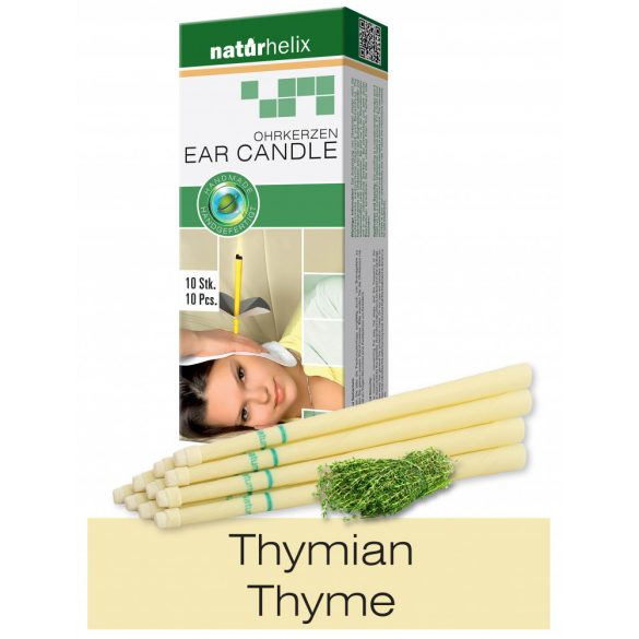 Naturhelix Ohrkerzen mit Thymian-Öl, 10er-Packung