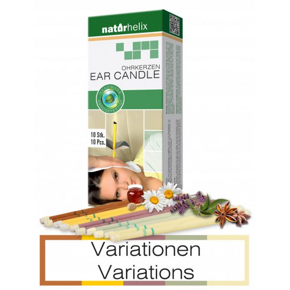 Naturhelix Ohrkerzen - Variationen, 10er-Packung