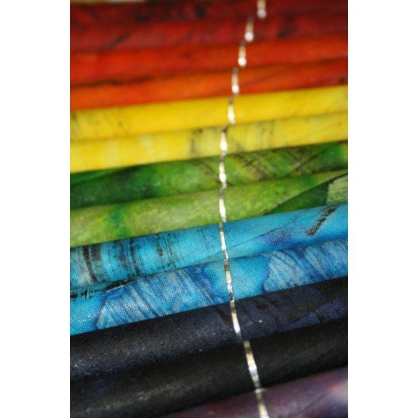 Naturhelix Mineral-Chakrakerzen in Spektralfarben, 7er-Packung