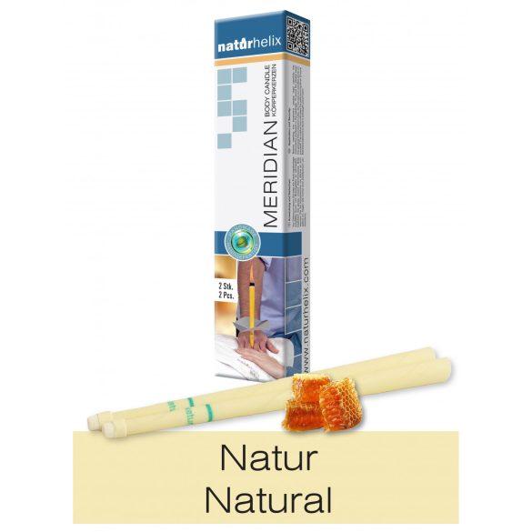 Naturhelix Körperkerzen - Natur, 2er-Packung