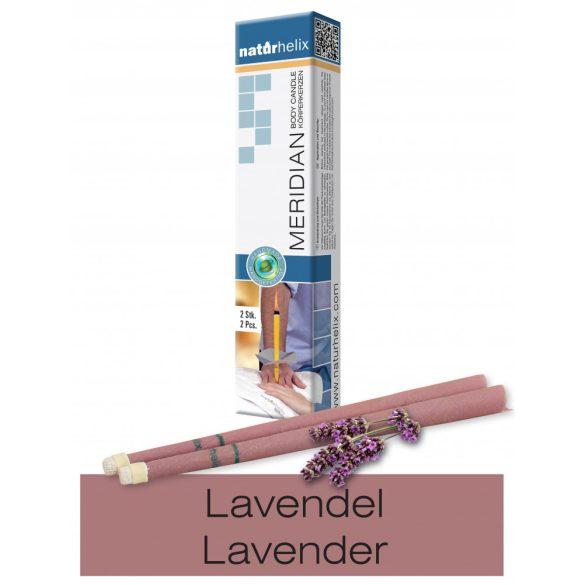 Naturhelix Körperkerzen mit Lavendel-Öl, 2er-Packung