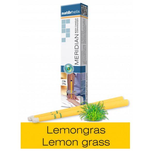 Naturhelix Körperkerzen mit Zitronengras-Öl, 2er-Packung