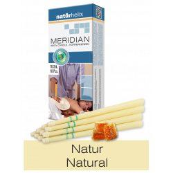 Naturhelix Körperkerzen - Natur, 10er-Packung
