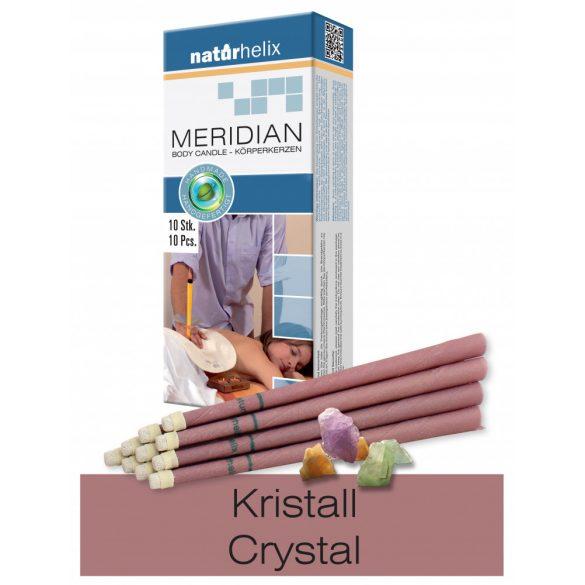 Naturhelix Körperkerzen mit Kristall Ölmischung, 10er-Packung