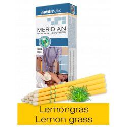 Naturhelix Körperkerzen mit Zitronengras-Öl, 10er-Packung