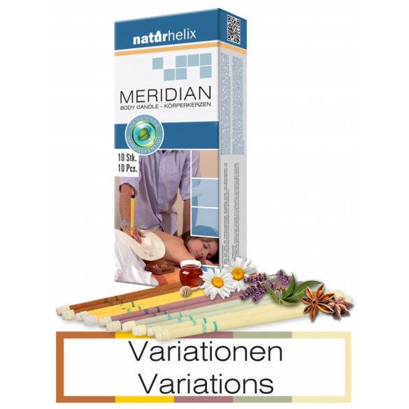 Naturhelix Körperkerzen - Variationen, 10er-Packung