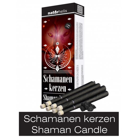 Naturhelix Schamanen Kerzen 7 stk.