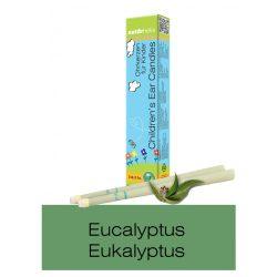 Naturhelix Kinder-Ohrkerzen mit Eukalyptus-Öl, 2er-Packung