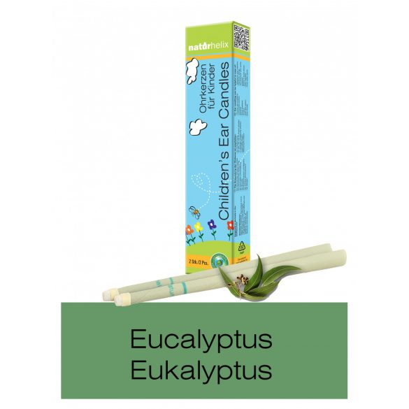 Naturhelix Children's Ear Candles with Eucalyptus Oil, 2pcs Pack