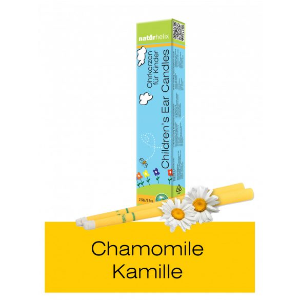 Naturhelix Children's Ear Candles with Chamomile Oil, 2pcs Pack