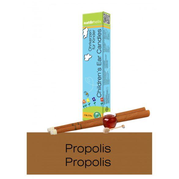Naturhelix Kinder-Ohrkerzen mit Propolis-Tinktur, 2er-Packung