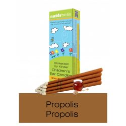 Naturhelix Children's Ear Candles with Propolis Tincture, 10pcs Pack