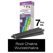 Naturhelix Chakra Candles Heart Chakra / Pink, 7pcs Pack