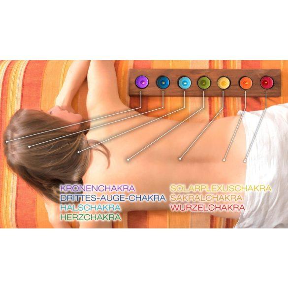 Naturhelix Chakra Candles Spectral Colors, 7pcs Pack
