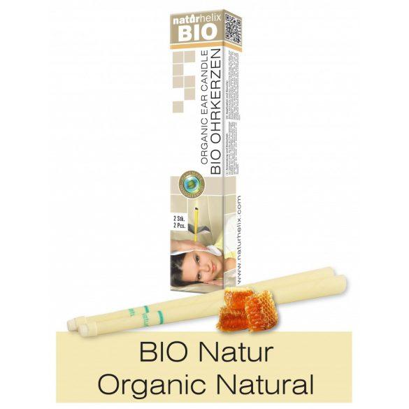 Naturhelix Organic Ear Candles - Natural, 2pcs Pack