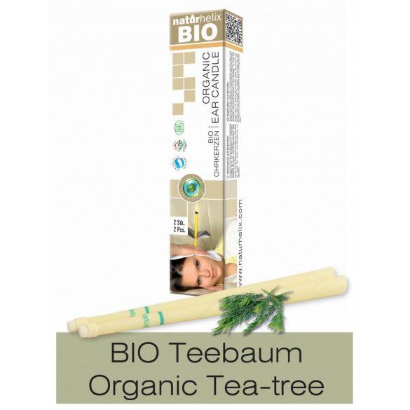 Naturhelix Organic Ear Candles with Tea Tree Oil, 2pcs Pack