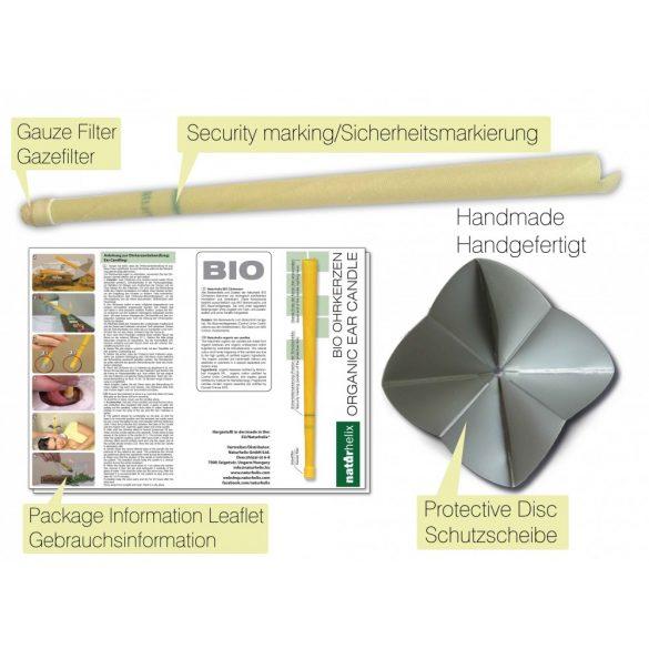 Naturhelix BIO-Ohrkerzen - Natur, 10er-Packung