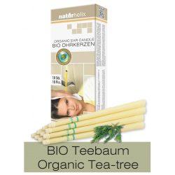 Naturhelix BIO-Ohrkerzen, 10er-Packung mit Teebaum BIO-Öl