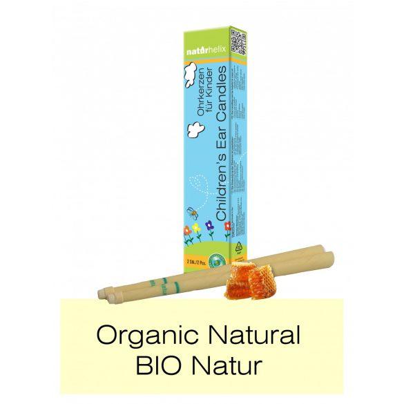 Naturhelix BIO Kinder-Ohrkerzen mit BIO Kamille-Öl, 2er-Packung