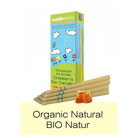 Naturhelix BIO Children's Ear Candles with Chamomile Oil, 10pcs Pack