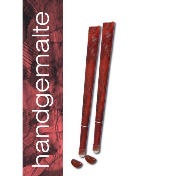 Naturhelix Mineral Chakra Candles Root Chakra / Red, 7 pcs